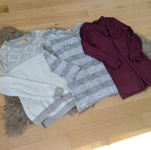 🦄 Bundle of Knit Tops
